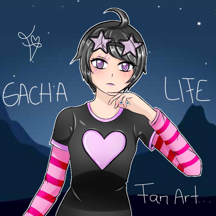 Gacha life fan art  Illust of Valentina A M medibangpaint