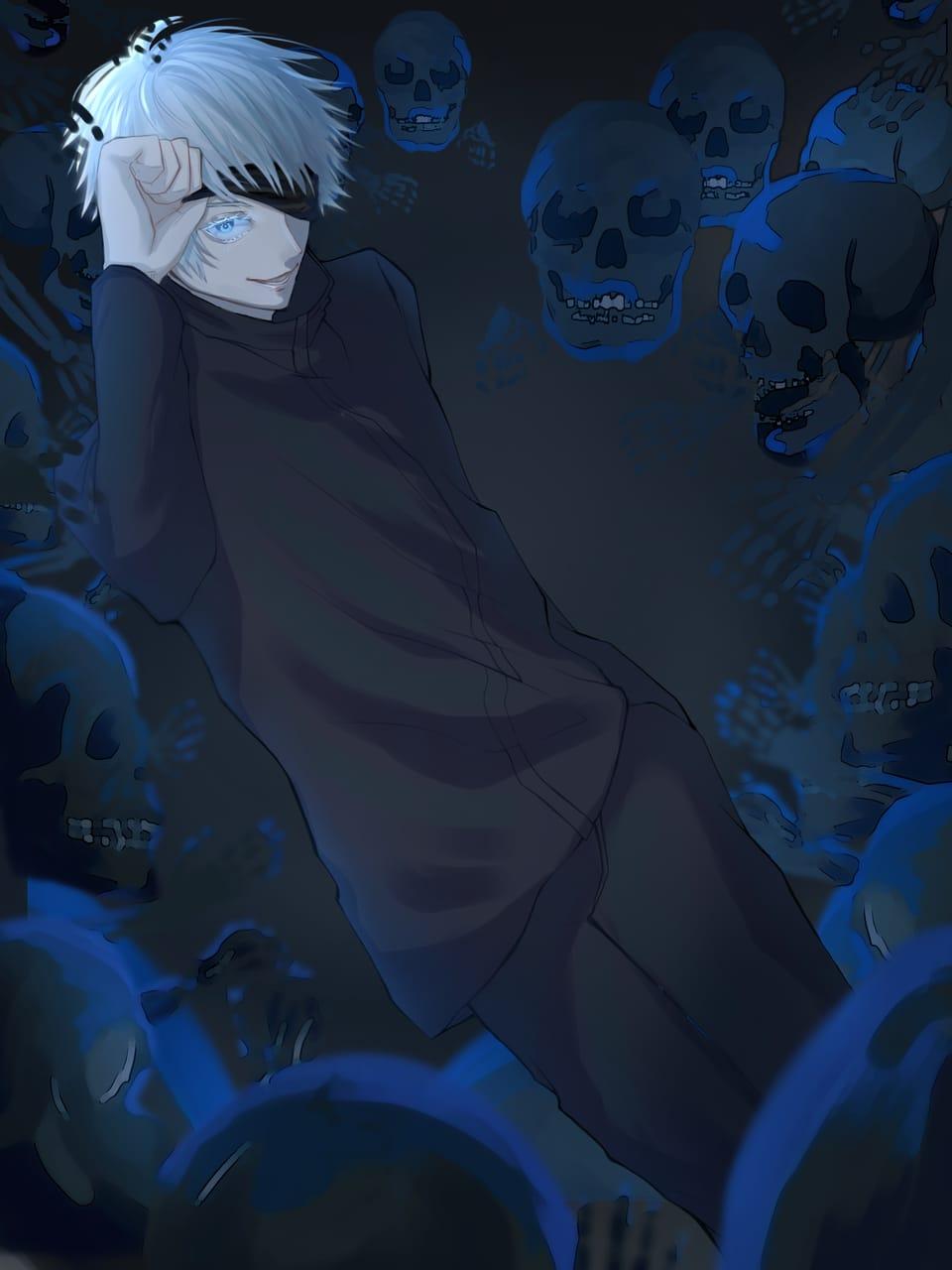 五条悟 Illust of リンク JujutsuKaisenFanartContest 五条先生 JujutsuKaisen SatoruGojō