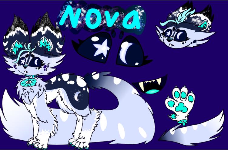 Old art & OCs Illust of ❄Ash❄ Sarv mode oc animal Doge Fluffy furry cute Fuzzy Doggo Sparkly