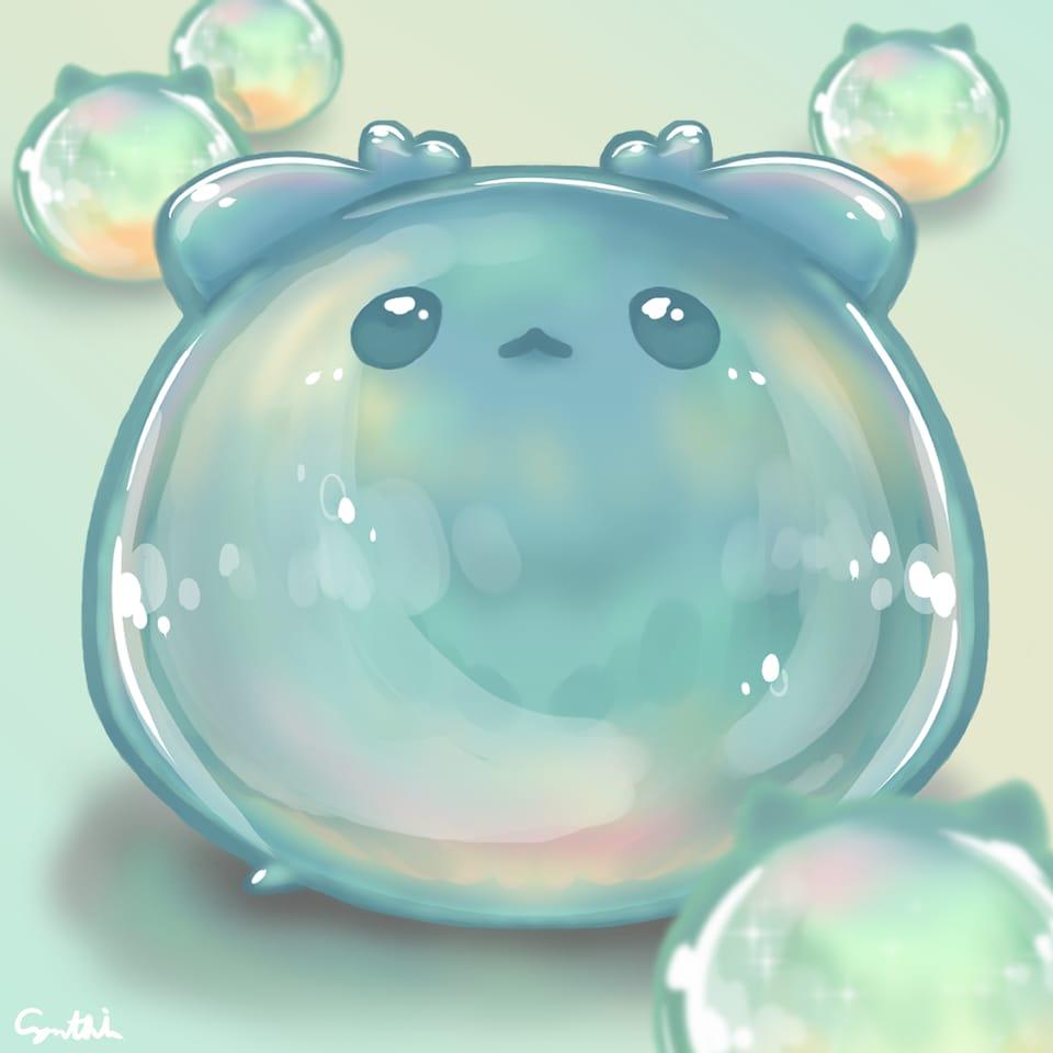 mints Illust of 亞 June2021_Anthropomorphism