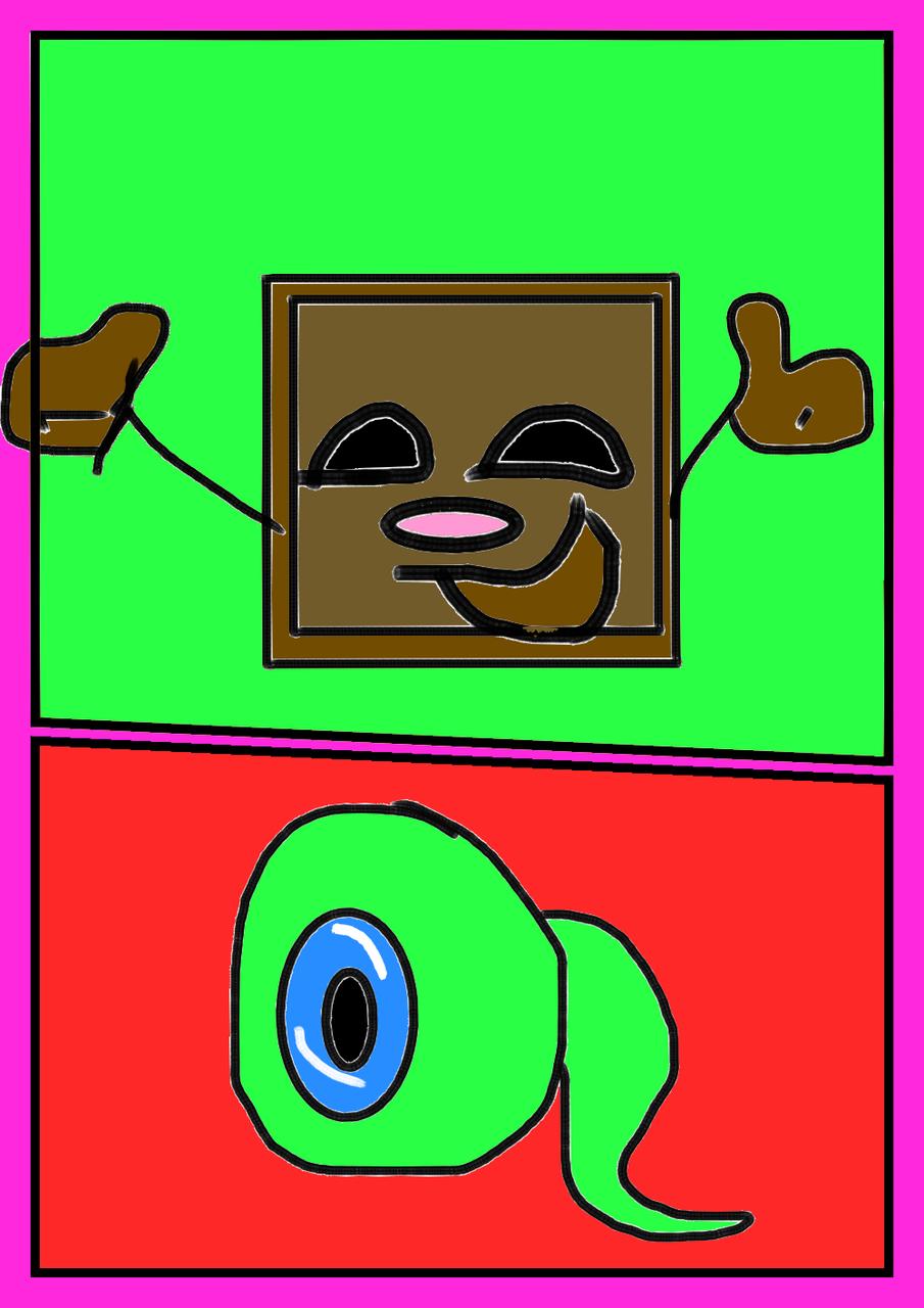 A Septic Eye tiny box tim and septic eye sam - fnafkid99   illustrations