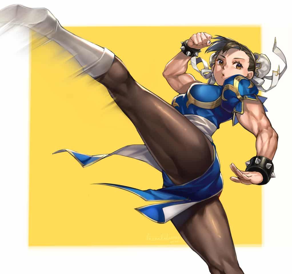春麗 Illust of Tarantulaines StreetFighter 大腿 春麗 muscle