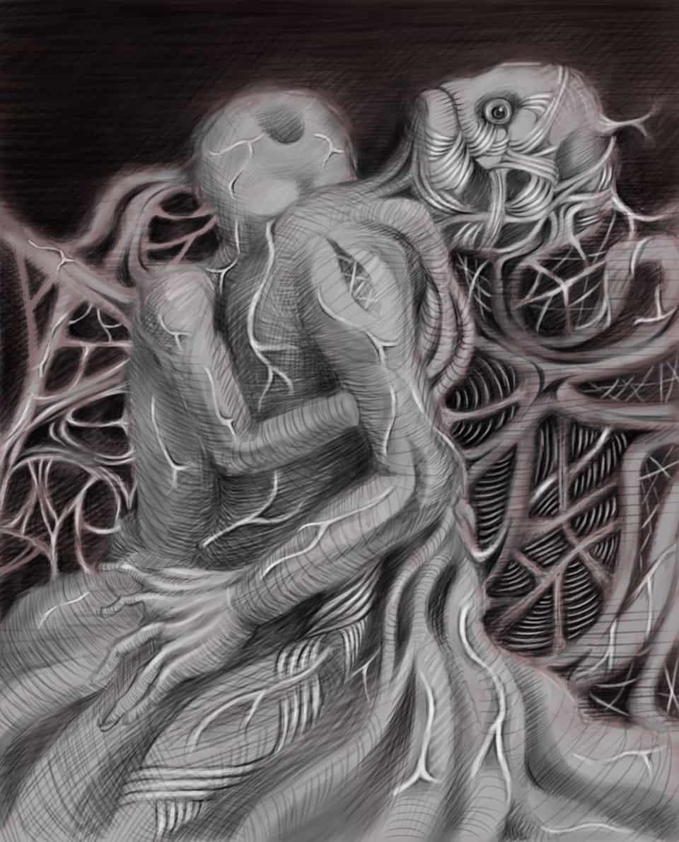 無題 Illust of ko horror August2020_Contest:Horror
