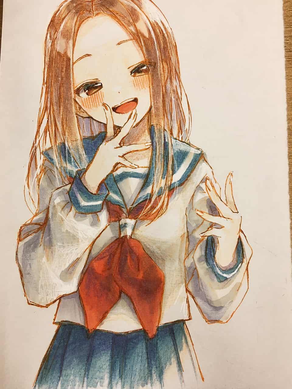 高木さん Illust of レヅキ TeasingMasterTakagi-san