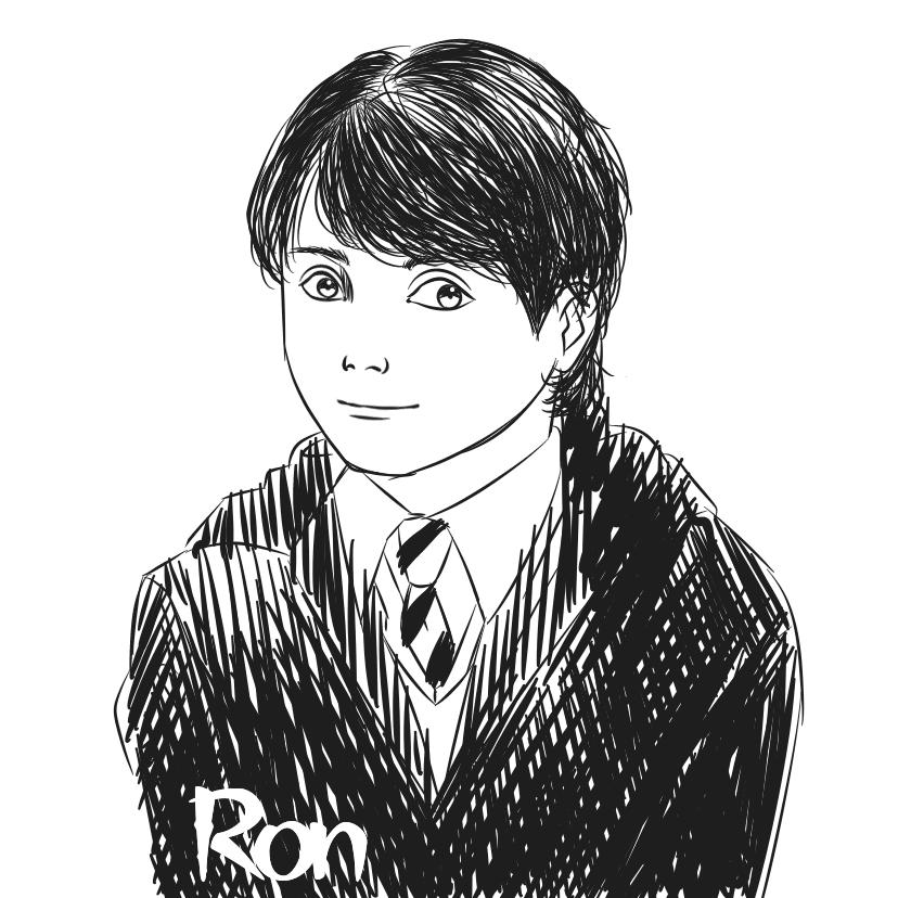榮恩·衛斯理Ron Weasley Illust of YJ ARTstreet_Ranking COVER medibangpaint HarryPotter 榮恩