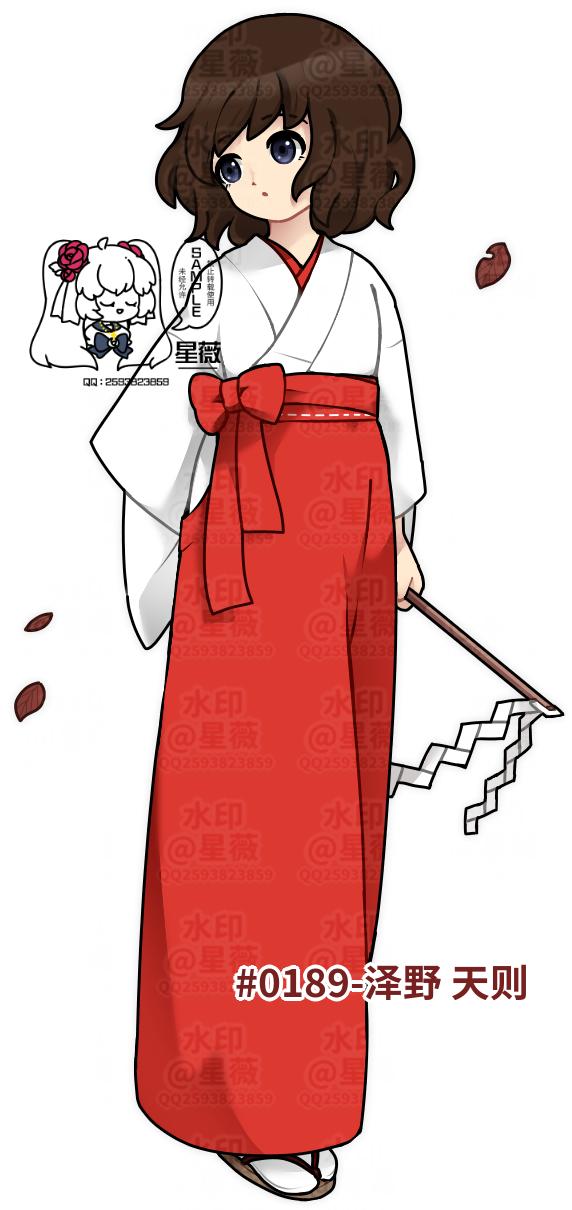 【原创人物】泽野 天则 Illust of 人形丿星薇 medibangpaint doodle 鸟笼花庭 孩厨 oc original 孩子厨 lazy