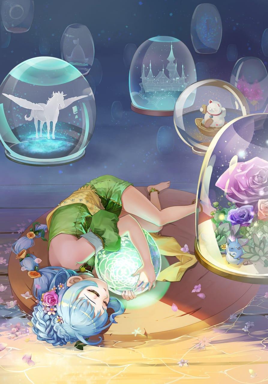 夢空 Illust of 杜星羽 January2021_Contest:OC