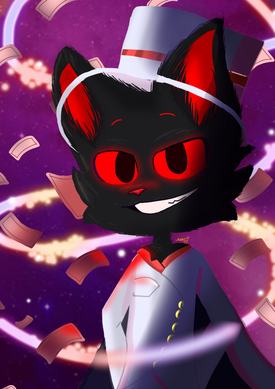 para Mr.cat Illust of Addy🌸 medibangpaint