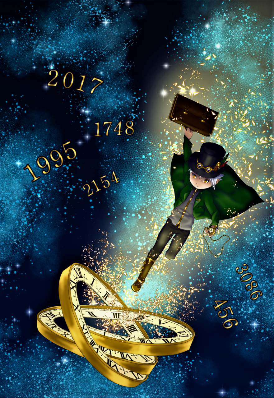 time travel Illust of MJO ArtToPaper2017