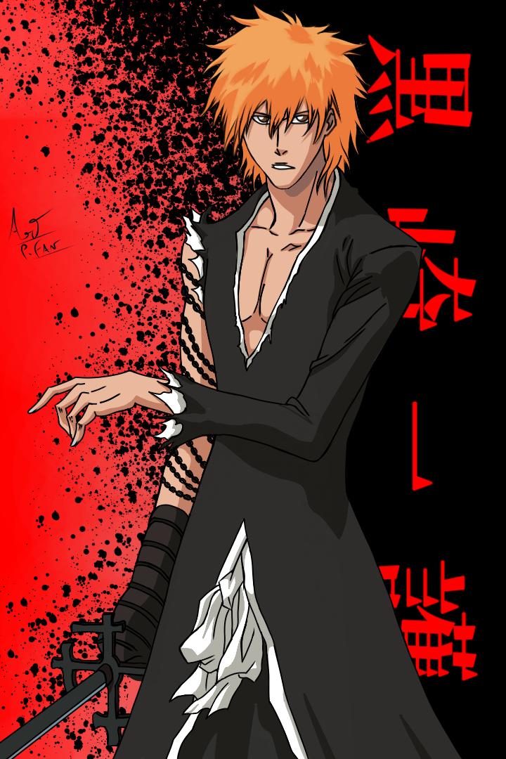 KUROSAKI ICHIGO Illust of Yashin medibangpaint fanart BLEACH anime Bleachfanart