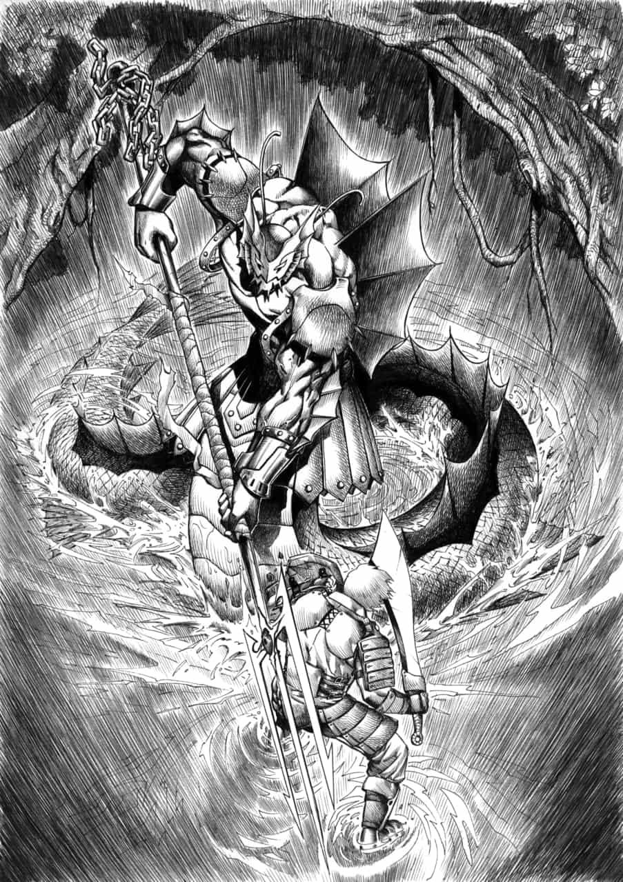 2000-2004年放棄了的同人誌故事 II Illust of 虎三