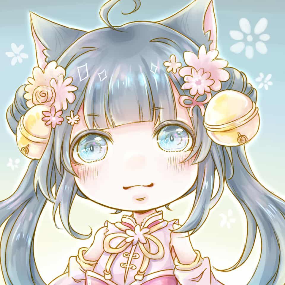 Illust of 幻祈 chibi うちの子 original