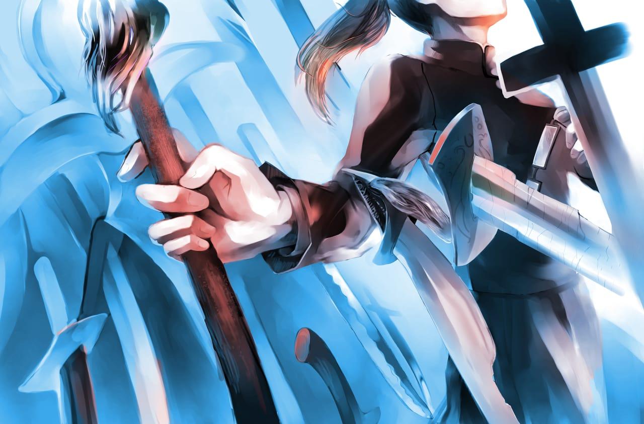 Not Zenin Illust of Lear JujutsuKaisenFanartContest sword fanart MakiZenin weapon maki 禅院真希 JujutsuKaisen