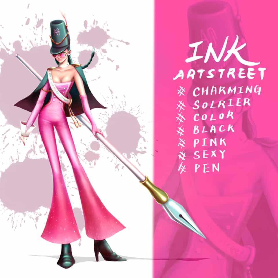 Artstreer角色設計-INK