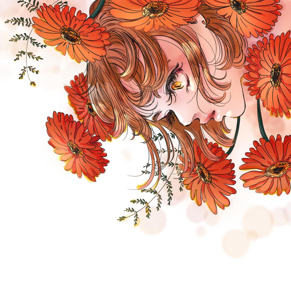 now I see Illust of IzzyDreamer April.2020Contest:Color ARTstreet_Ranking illustration mangagirl