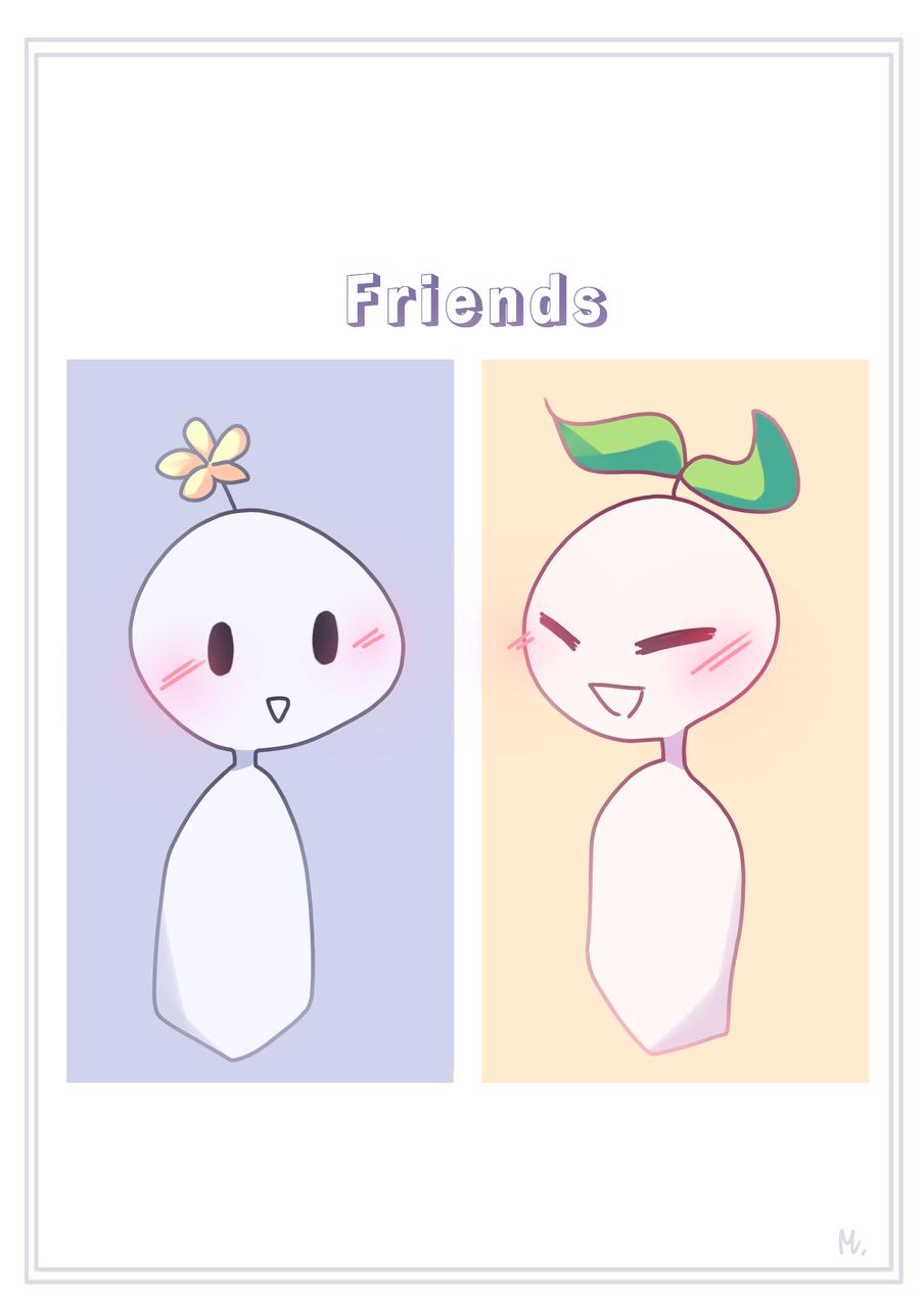Friends Illust of Maiiku medibangpaint fanart Maiiku doodle Psych2Go