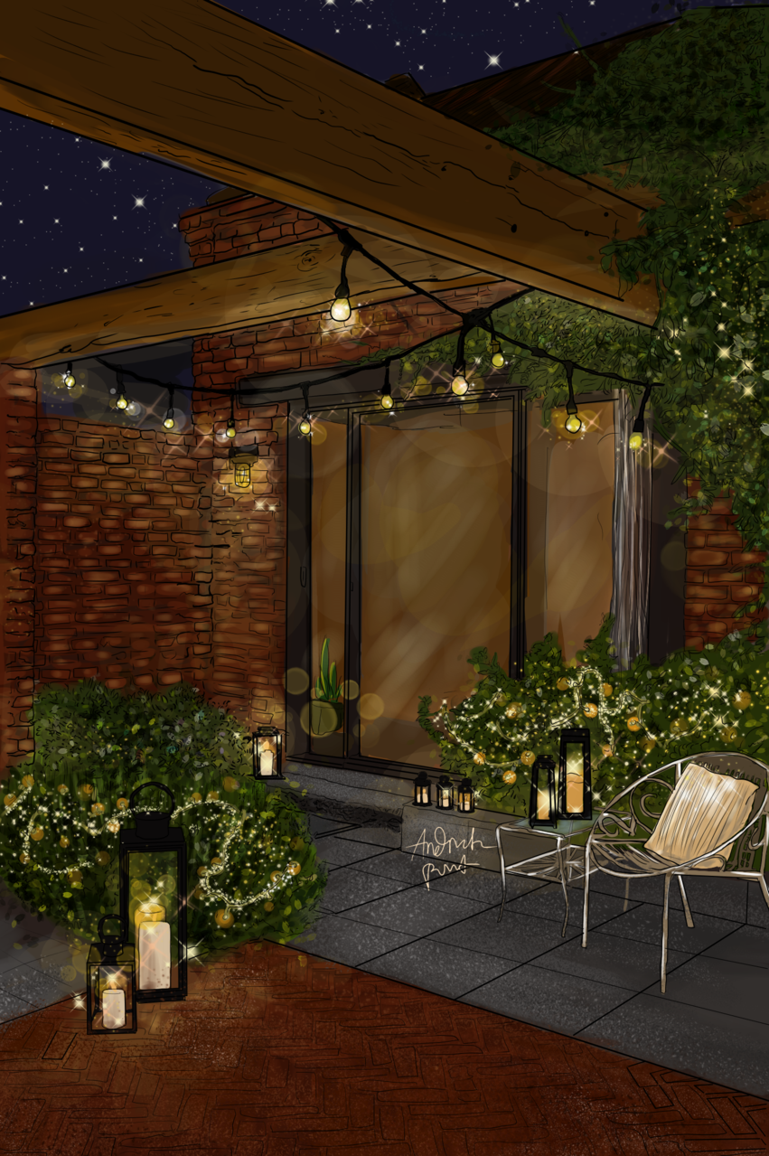 Dream Terrace Illust of Andinatz medibangpaint iPad_raffle