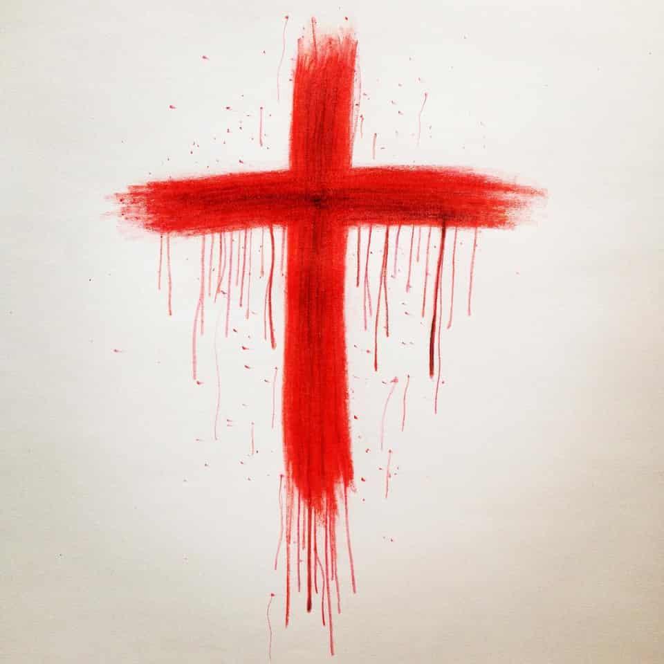 Isaiah 55:3 Illust of Rue Lee art coloredpencil Jesus HeIsRisen drawing JesusChrist