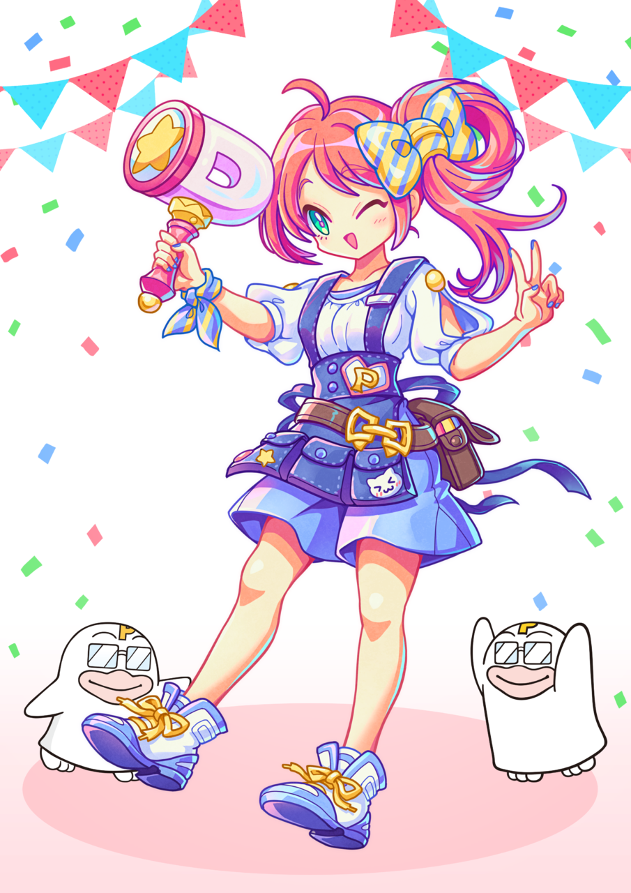 PICOQガールフレンド★ Illust of kouji. PICO公式キャラクターPICOQガールフレンド大募集!!コンテスト