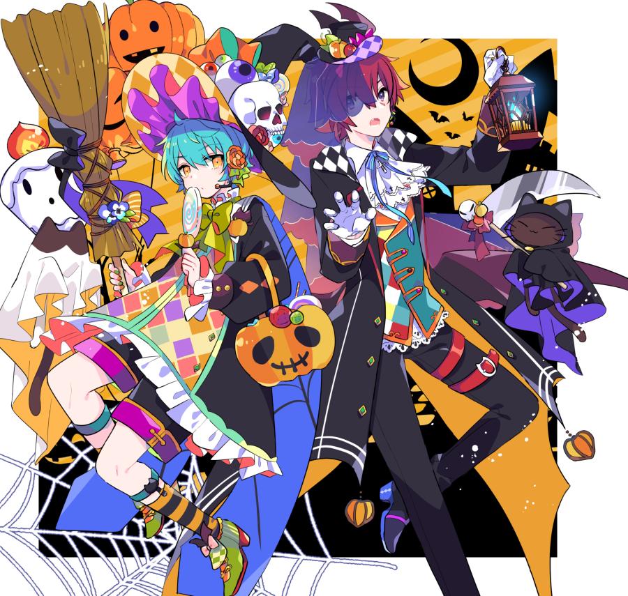 不機嫌なハロウィン Illust of 由杞 ARTstreet_Ranking original Halloween