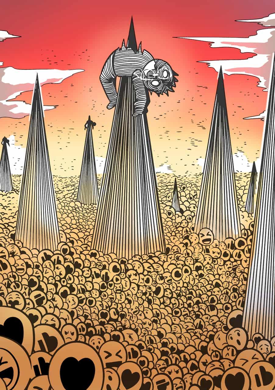 'Desire Illust of Ryanliu August2020_Contest:Horror desire illustration like ryanliuil