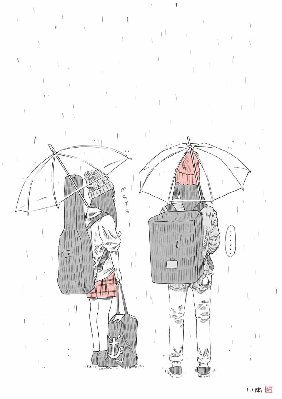 小雨 Illust of Passion5 小雨 girl rain