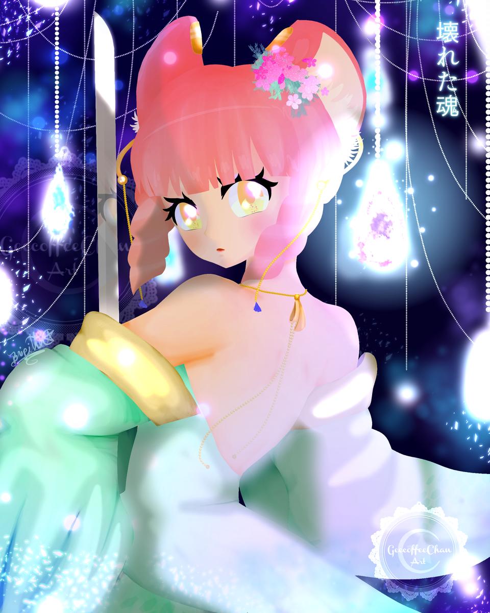 Tami, Guardiana de Almas Illust of Geecoffee chan January2021_Contest:OC
