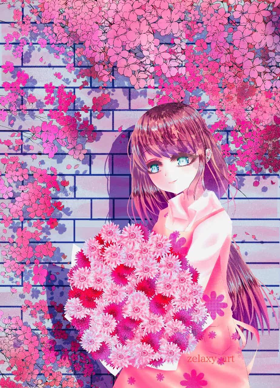 Florist Love Made of Flower - Manga Cover Page
