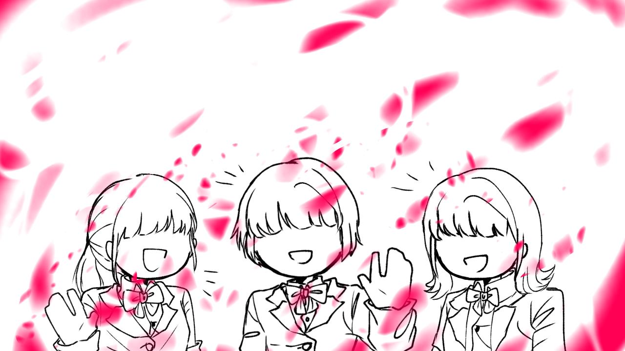 ありがとう… Illust of Scarlet friend doodle 低クオ 好き