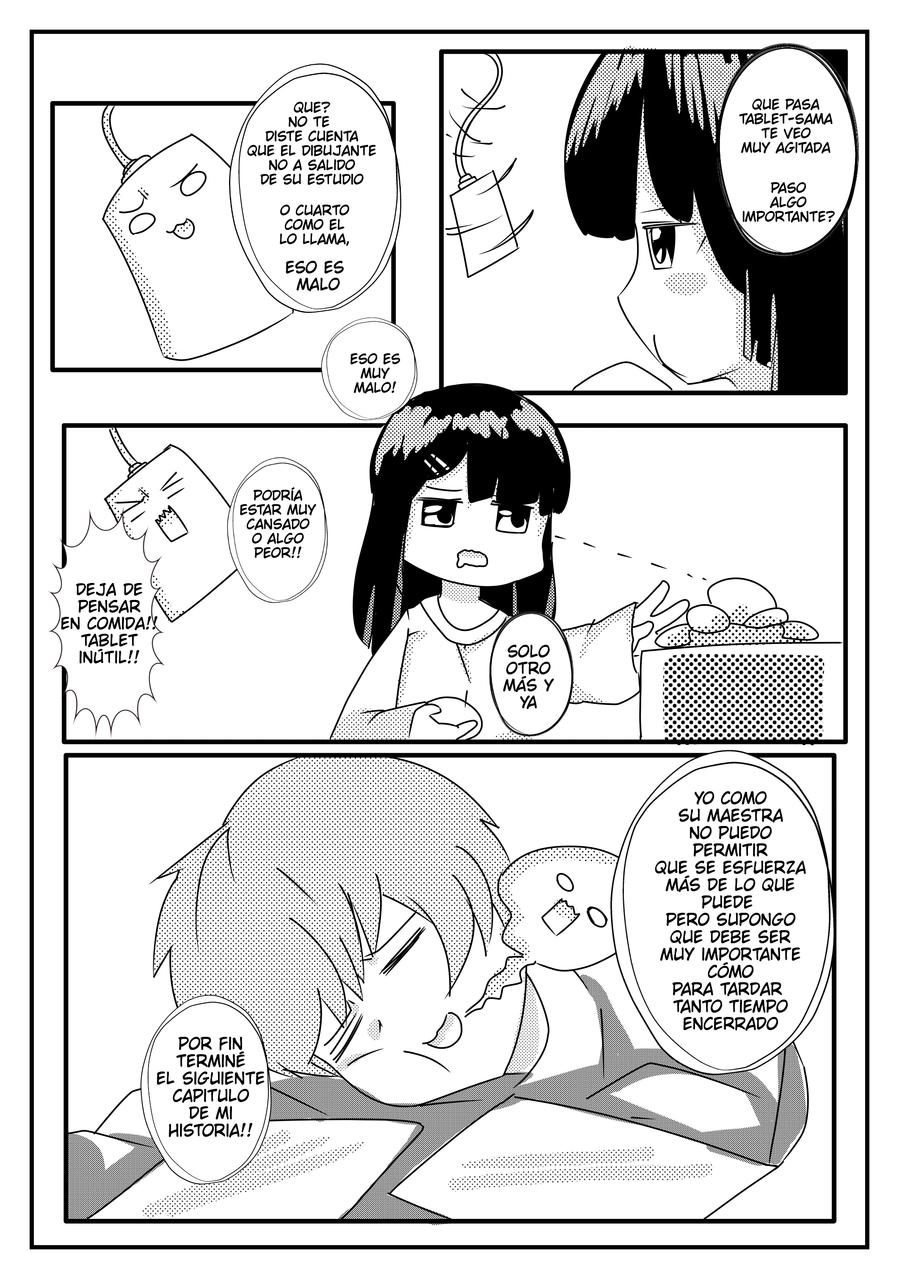 manga: tablet-sama: (dibujante)