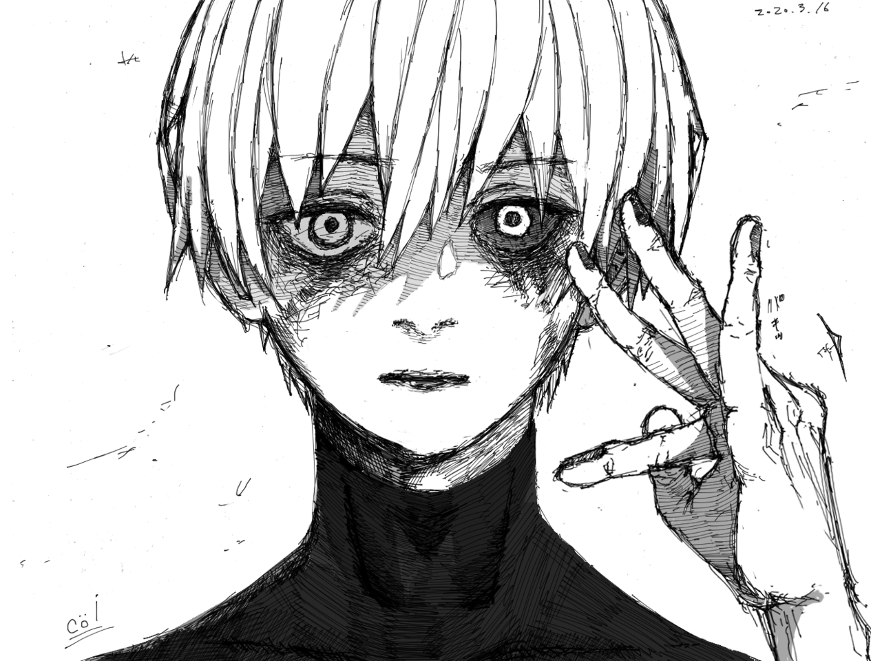 「東京喰種」カネキケン Illust of コイ ARTstreet_Ranking boy Comics カネキケン tokyo_ghoul