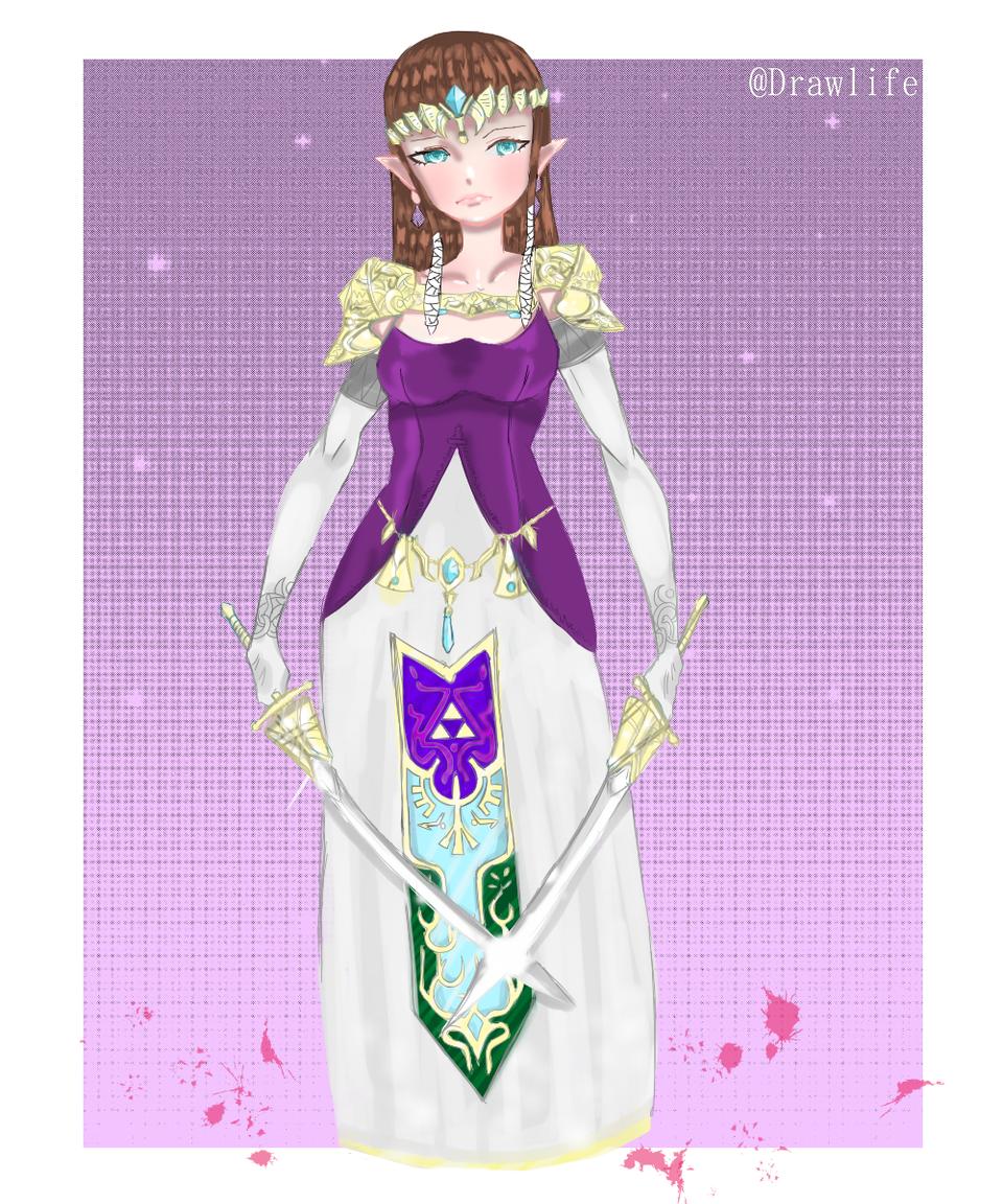 Zelda Illust of DrawLife medibangpaint