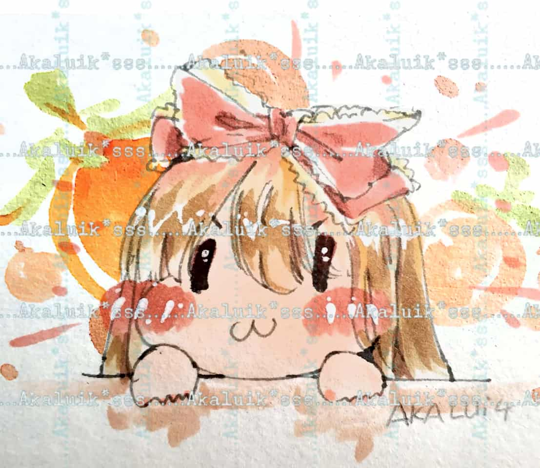 可爱头像 Illust of 舒十四*akalui chibi girl akalui sss lolita original 舒十四 head