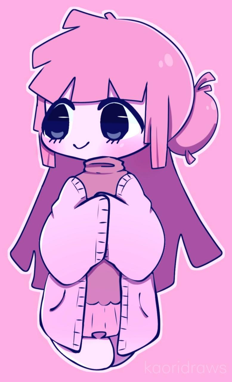 ✿◕ ‿ ◕✿ Illust of ✿Kaori✿ medibangpaint pink pastel girl chibi art illustration digital cute anime
