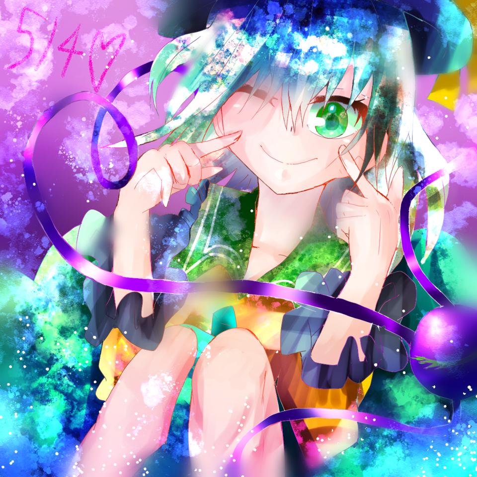 514 Illust of お茶湯 Touhou_Project girl 古明地こいし original