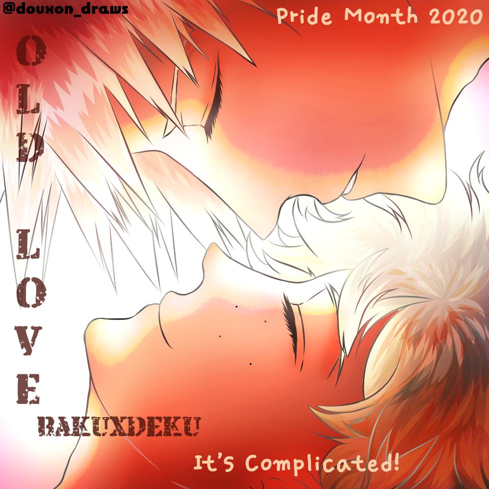 BakuDeku Illust of DouXoN BL ARTstreet_Ranking MyHeroAcademia _Bakugo Midoriya animeart MediBang bakudeku Katsuki