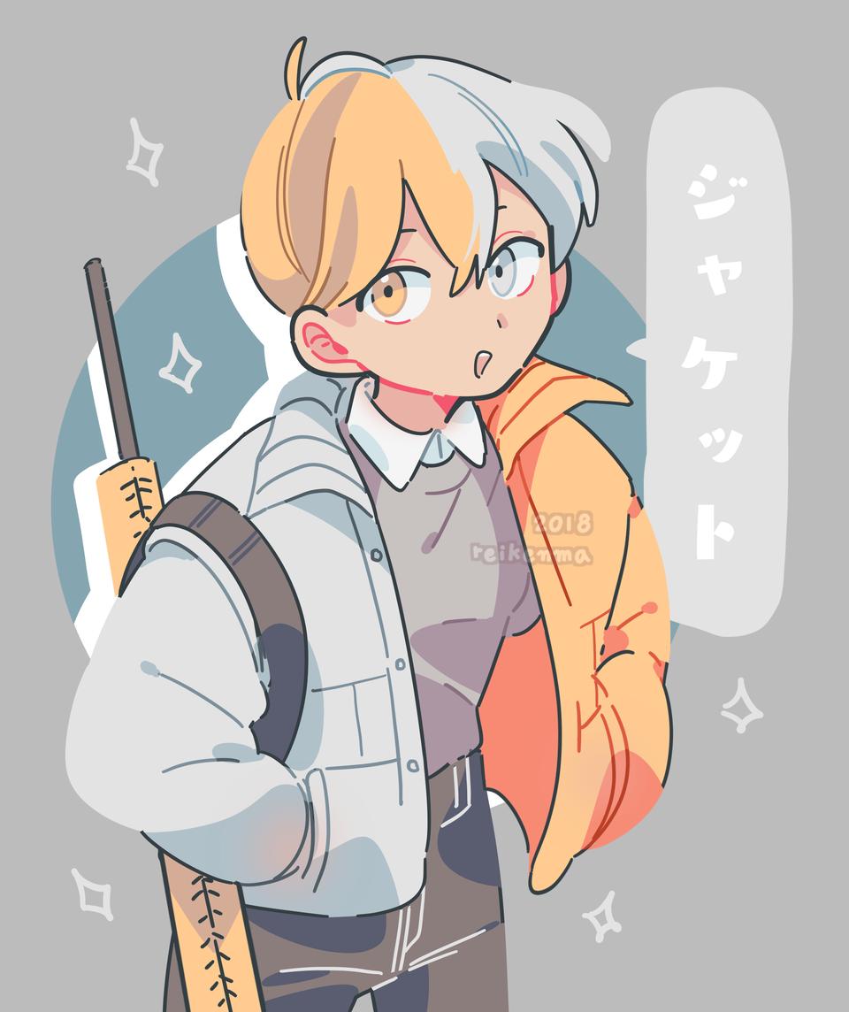 定規くん (2018) Illust of rei1OO oc original MyHeroAcademia boy