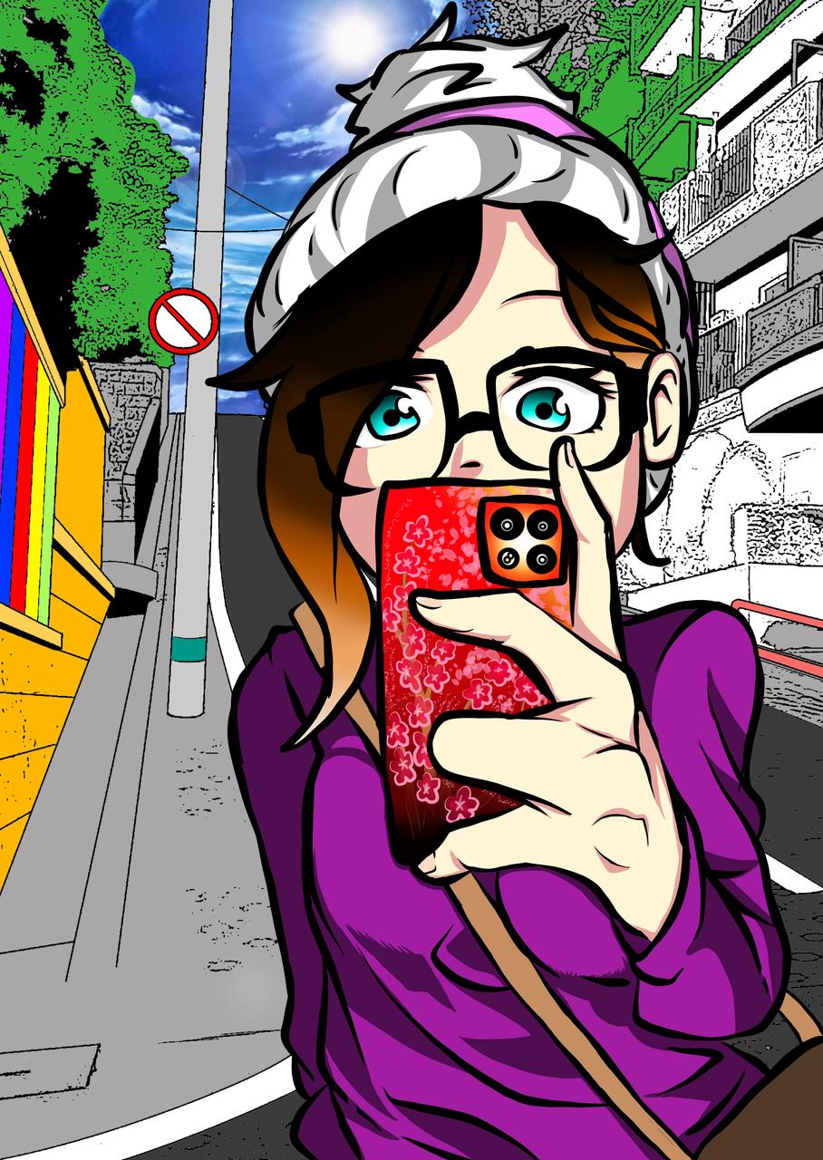 'Mirror' Selfie