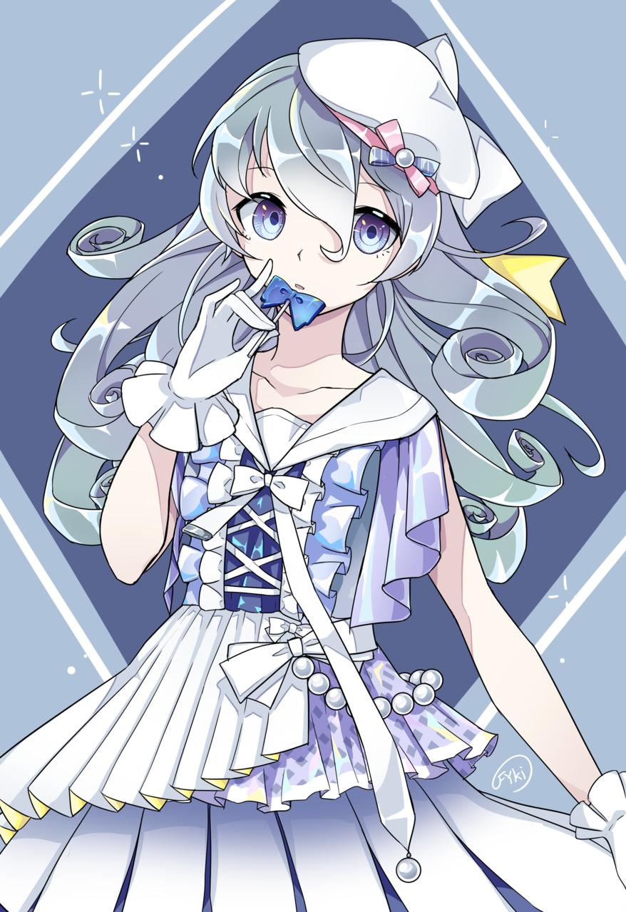 ちょっとした塗り練習まとめ Illust of フ雪 eyes original girl sailor_uniform practice doodle