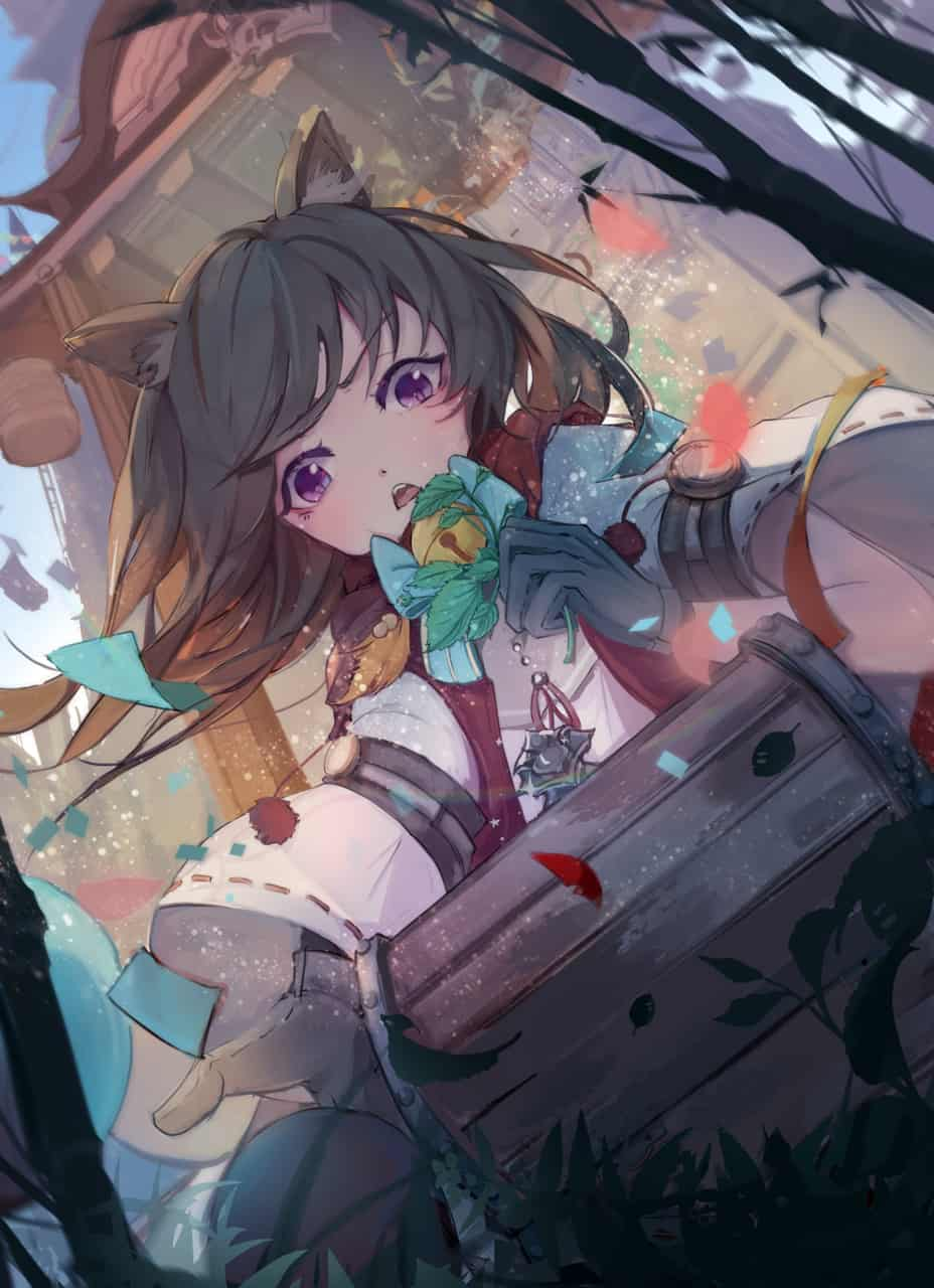開箱 Illust of OIAR girl 獸人