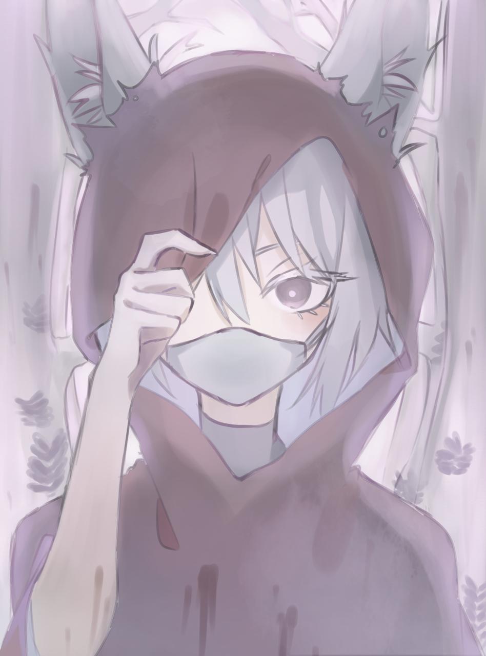 小紅帽? Illust of ( ・᷄ὢ・᷅ )