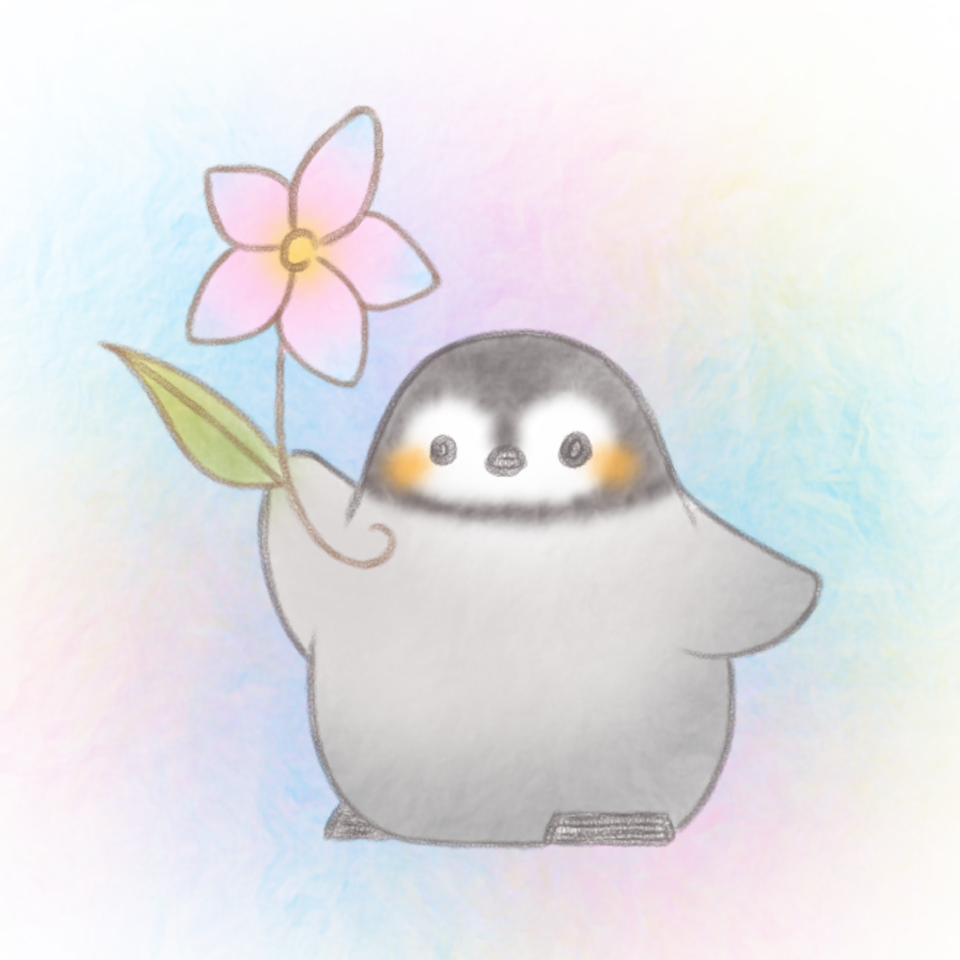 癒しを。 Illust of 兎卯子 digital animal Penguin original 小動物