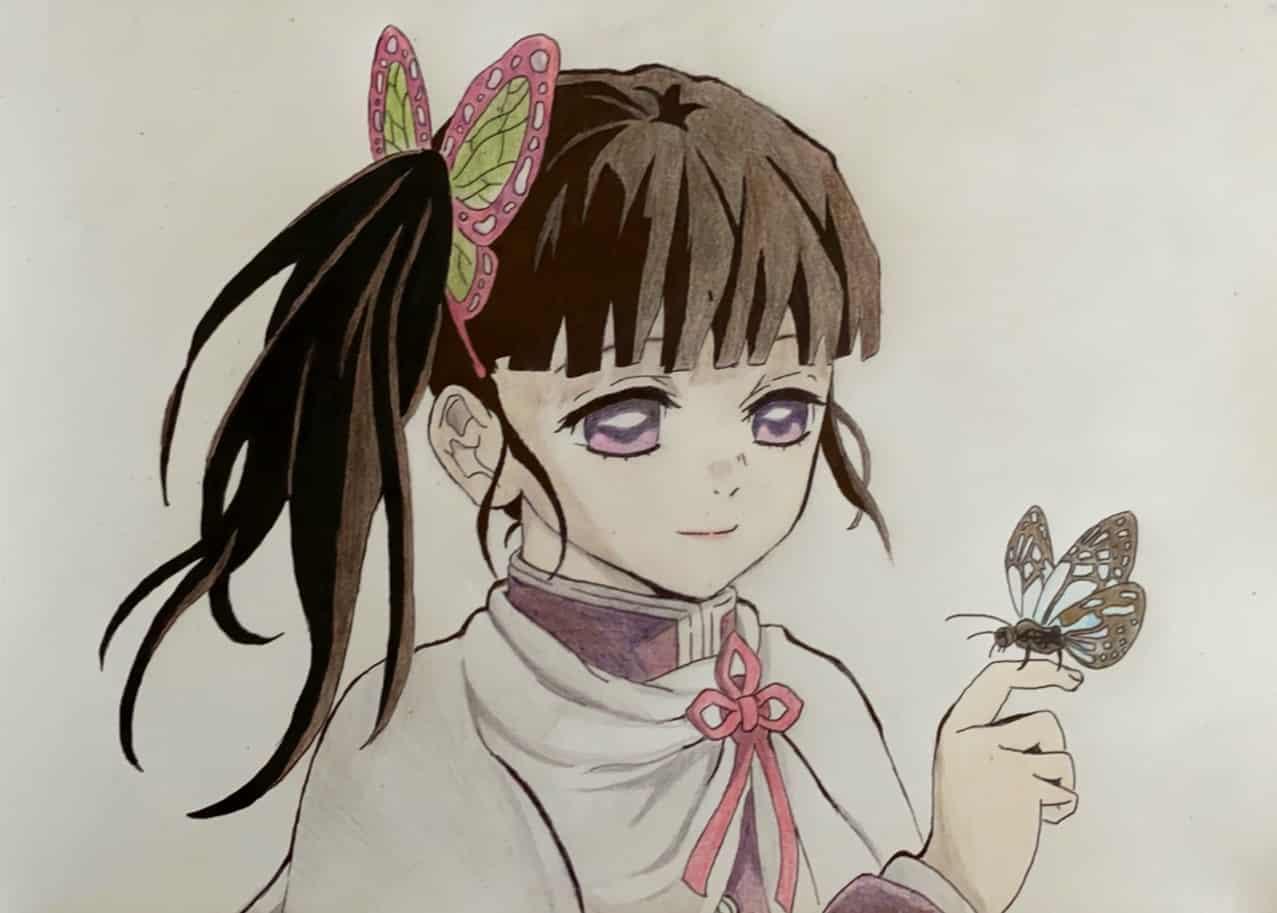 栗花落カナヲ Illust of マロン DemonSlayerFanartContest KimetsunoYaiba TsuyuriKanao