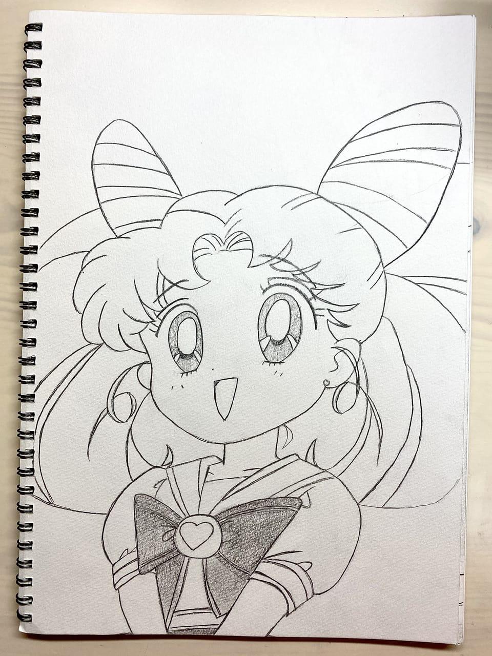 ちびうさ Illust of a_sakura ちびうさ illustration PrettyGuardianSailorMoon