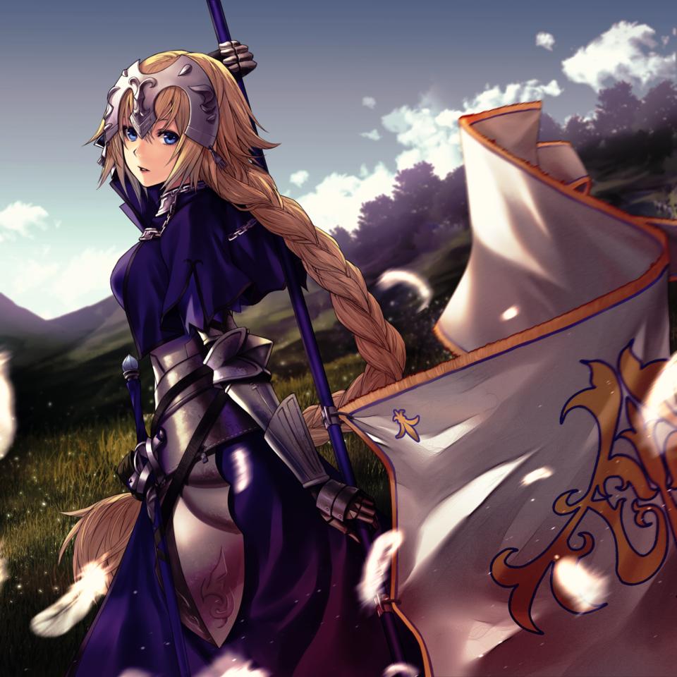 ジャンヌ・ダルク Illust of applekun art ジャンヌ・ダルク girl animegirl medibangpaint anime illustration Fate/GrandOrder medibang manga