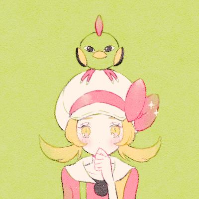 鳥ポケモン Illust of 緑乃 ツツケラ pokemon キャモメ コトネ(トレーナー) ハルカ(トレーナー) ネイティ ミヅキ(トレーナー)