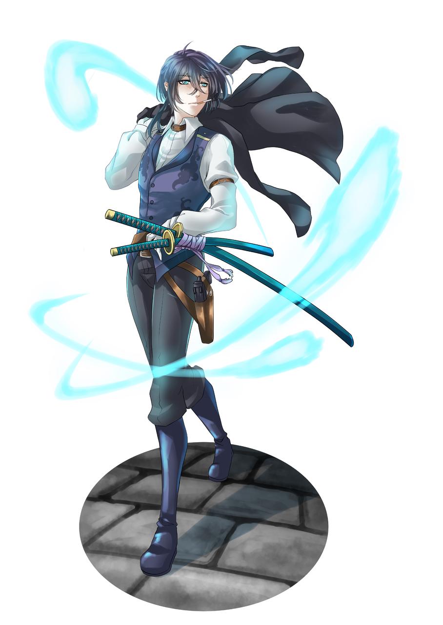 TRPG用キャラクター:レイモン ラングスレー