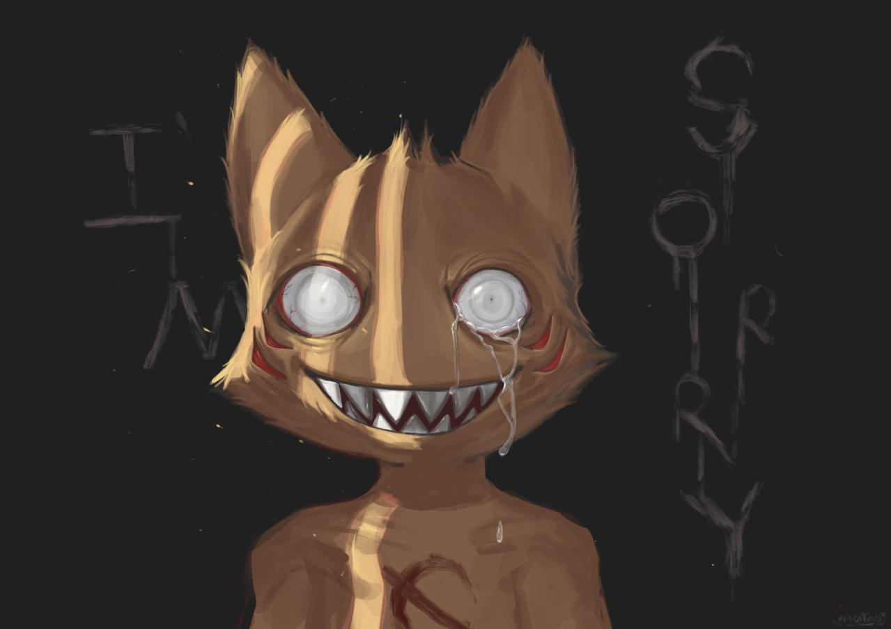 """I'm sorry"" Illust of ΜΟ Γιανγκ[墨陽] monster"