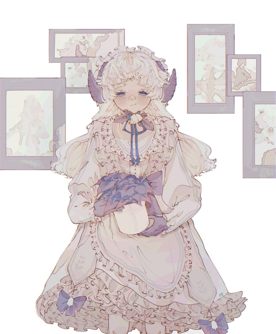 Illust of 우왕 Christmas illustration girl characterdesign white character drawing cute