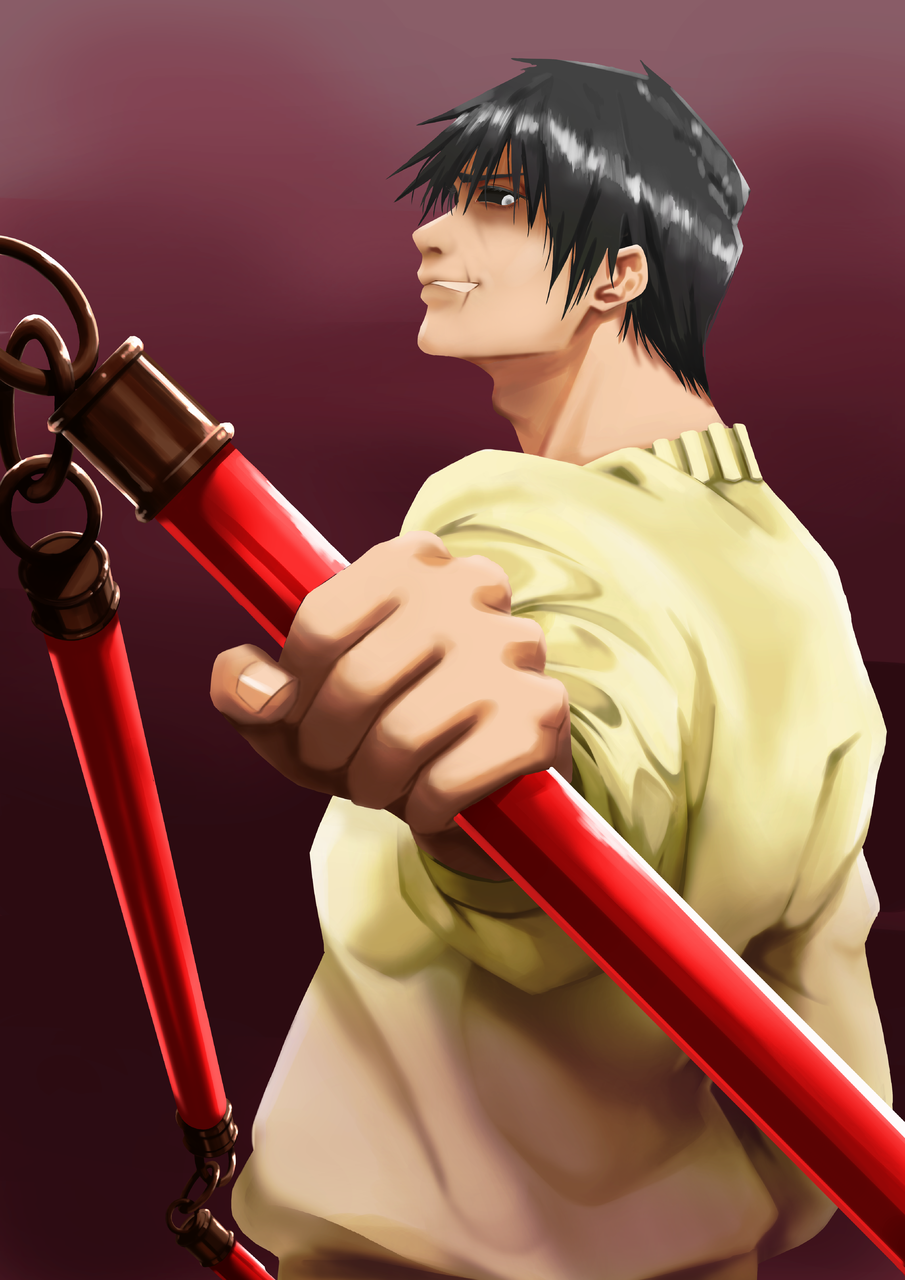 Toji Fushiguro Illust of Perfectsword JujutsuKaisenFanartContest medibangpaint Zenin JujutsuKaisen TojiFushiguro